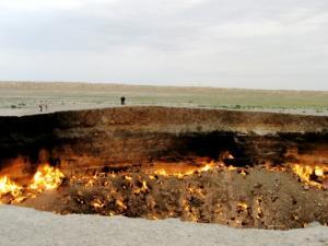 Gerbang Neraka di Turkmenistan