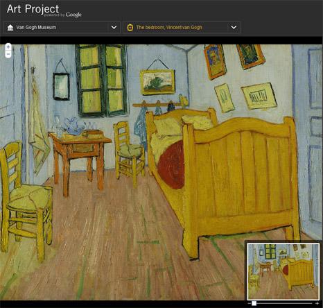 Google Art Project: Jalan-jalan ke Musium Lukisan dengan harga 2500 per jam