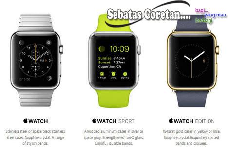 Apple Watch Jam Tangan Pintar dari Apple