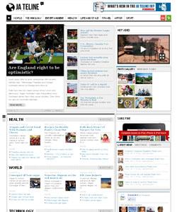 JA Teline IV Joomla Magazine – News Template