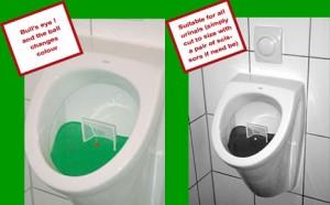 Toilet Cocok untuk Para Pemain & Penggemar BOLA