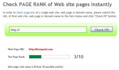 Update PR (PageRank) Google Juni sedikit Ngaco