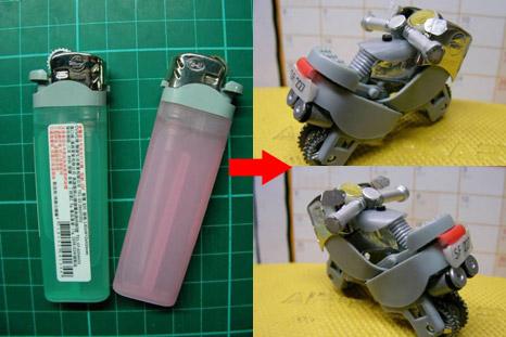 Miniatur dari bekas korek api – ide kreatif