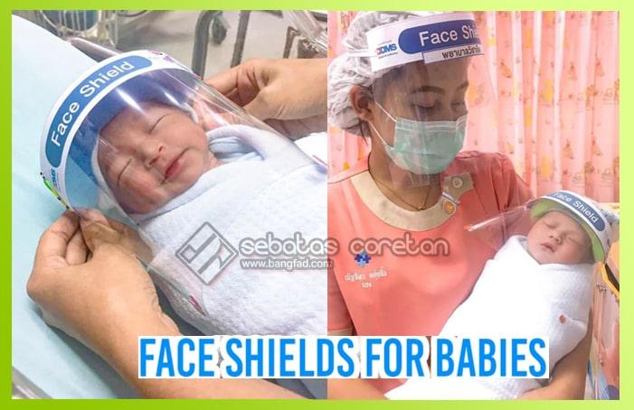 baby-face-shields Paolo Hospital Samutprakarn