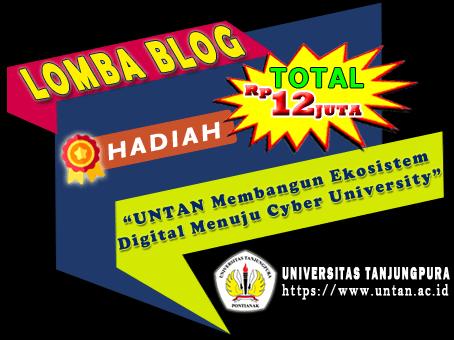 Lomba Blog SEO Untan 2020 menuju Untan Cyber University