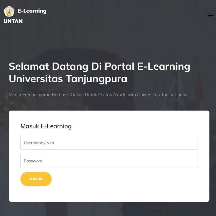E-Learning UNTAN